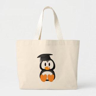 Senior Penguin Tote Bags