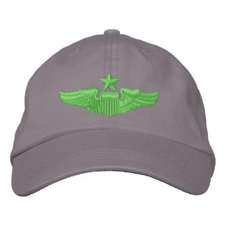 Senior Pilot Embroidered Hat