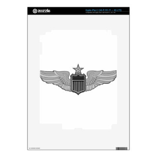 SENIOR PILOT WINGS DECALS FOR iPad 3