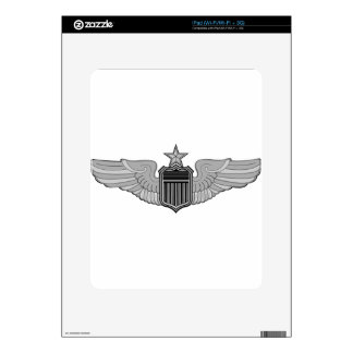 SENIOR PILOT WINGS DECALS FOR THE iPad