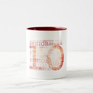 Senior Pink Two-Tone Coffee Mug