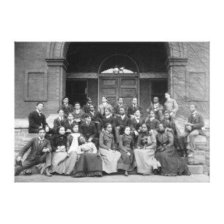 Senior Preparatory Class at Fisk University Canvas Print