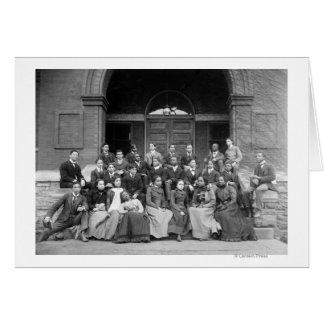 Senior Preparatory Class at Fisk University Cards