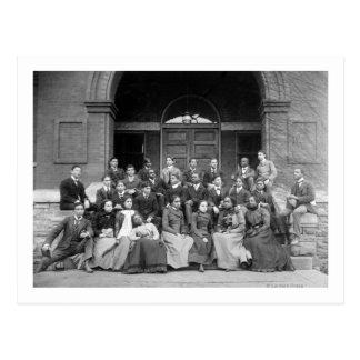 Senior Preparatory Class at Fisk University Post Card