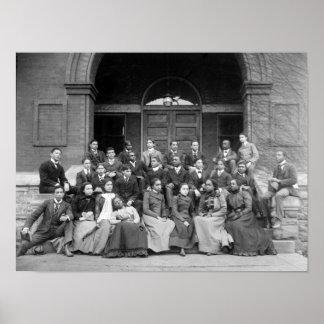 Senior Preparatory Class at Fisk University Print