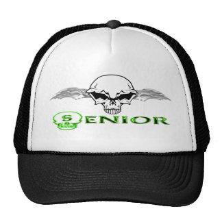 Senior - Skull Wings Hat