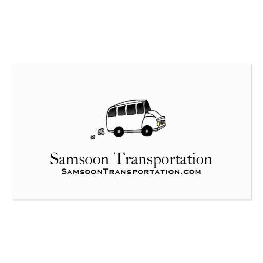 Senior Transportation Business Cards