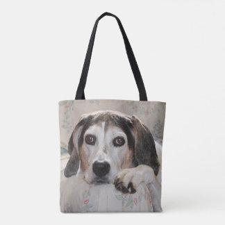 Senior Treeing Walker Coonhound Tote Bag