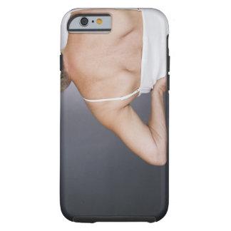 Senior woman with backache 2 tough iPhone 6 case