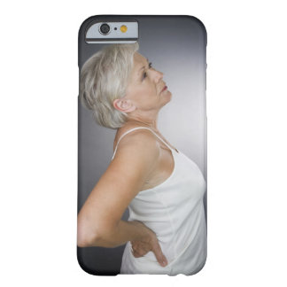 Senior woman with backache barely there iPhone 6 case