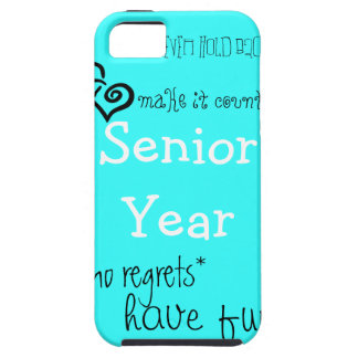 Senior Year (girl) iPhone SE/5/5s Case