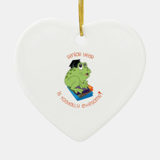 Senior Year Is Toadally Awesome! Ornament