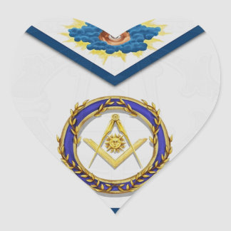 seniordeaconMasonic Senior Deacon Apronapron Heart Sticker