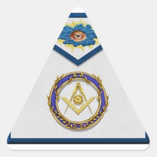 seniordeaconMasonic Senior Deacon Apronapron Triangle Sticker