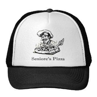 Seniore's Pizza B/W Hat