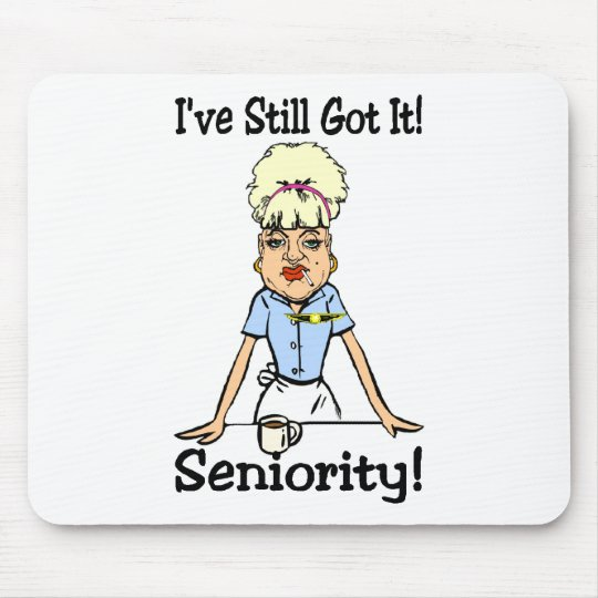seniority mouse pad