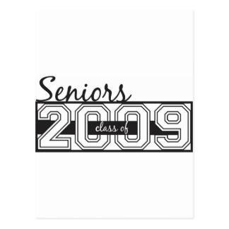 Seniors 2009 postcard