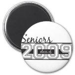 Seniors 2009 refrigerator magnet