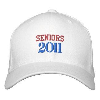 SENIORS  2011 EMBROIDERED BASEBALL CAPS
