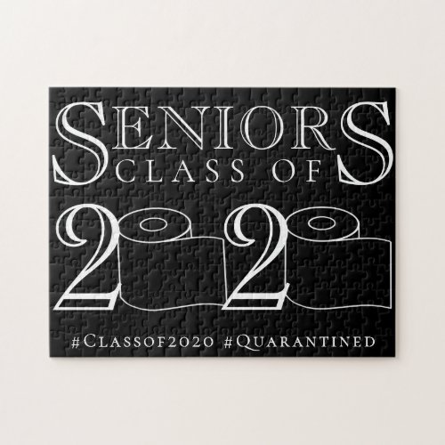 Seniors 2020  The Quarantined Class of Graduates Jigsaw Puzzle