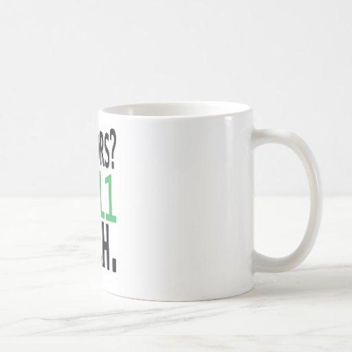 Seniors? HE11 YEAH. (Green) Coffee Mug