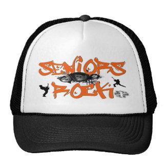 Seniors Rock - Guitar Players Trucker Hats