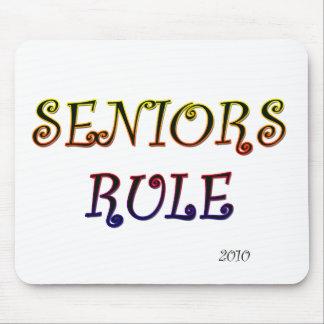 SENIORS RULE 2010 MOUSE PAD