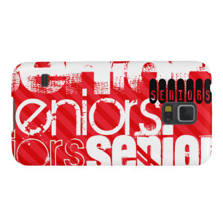Seniors; Scarlet Red Stripes Galaxy S5 Cover