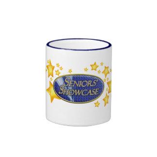 Seniors' Showcase Blue + Stars Mug