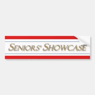 Seniors' Showcase Bumper Sticker