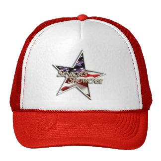 Seniors' Showcase Flag Star Trucker Hat