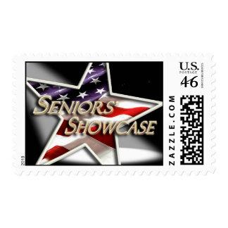 Seniors' Showcase Spotlight Star Stamp