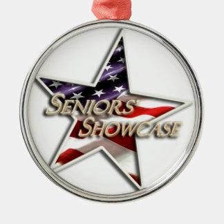 Seniors' Showcase Star Flag Ornaments