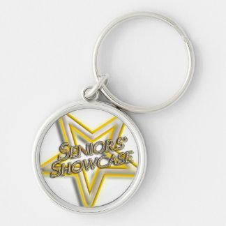Seniors' Showcase  Star Key Ring Keychain