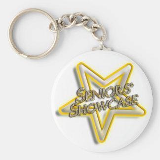 Seniors' Showcase  Star Keychain