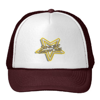 Seniors' Showcase Star Mesh Hats