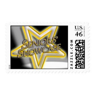 Seniors' Showcase Star Stamps
