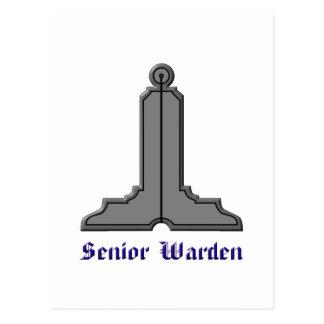 seniorwarden postcard
