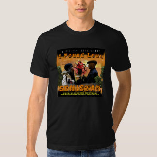 """SENISTAR """" I FOUND LOVE """" OFFICIAL COVER TEE"""