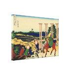Senju por Hokusai Impresión En Lona