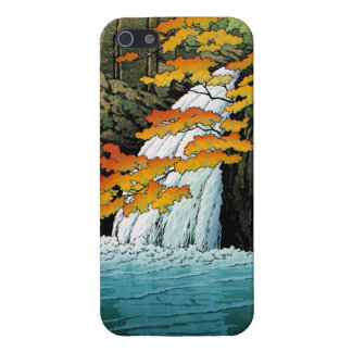 Senju Waterfall, Akame. Hasui Kawase waterscape iPhone SE/5/5s Cover