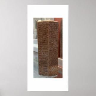 Sennacherib prism poster