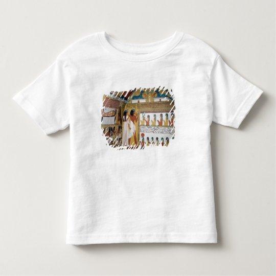 Sennedjem and his wife facing a naos toddler t-shirt