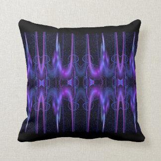 seno azul eléctrico almohada
