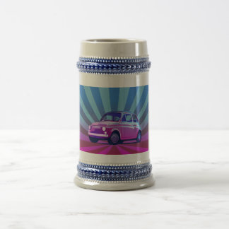 Seno de Fiat 500 Jarra De Cerveza