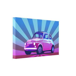 Seno de Fiat 500 Impresion En Lona