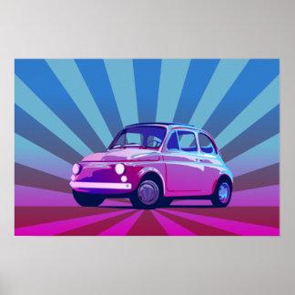 Seno de Fiat 500 Posters
