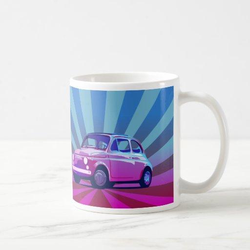 Seno de Fiat 500 Taza Básica Blanca