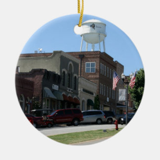 Senoia Georgia Ceramic Ornament
