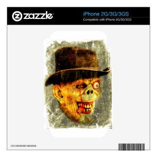 Señor apuesto del zombi muerto iPhone 3GS skins